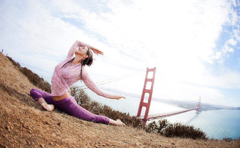 Michelle Nayeli at the Marin Headlines, San Francisco