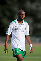 FOOTBALL - FRIENDLY GAMES 2010/2011 - SAINT ETIENNE v CLERMONT FOOT - 09/07/2010 - PHOTO JEAN MARIE HERVIO / DPPI - GELSON FERNANDES (ASSE)
