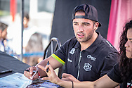 #44 (DEAN Anthony) AUS at the 2016 UCI BMX Supercross World Cup in Santiago del Estero, Argentina