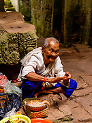 Image from Preaha Khan temple, a part of the Angkor Wat Archeological Park, Siem Reap, Cambodia.