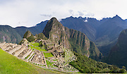 Arriving at Machu Picchu and catching one of your first glimpses ofthis wonderful Incan ruins.