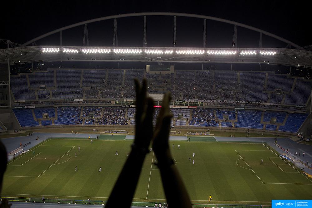 during the Botafogo V  Ceara, Futebol Brasileirao  League match at the Jornalista Mário Filho Stadium, Rio de Janeiro,  Brazil. 25th August 2010. Photo Tim Clayton.
