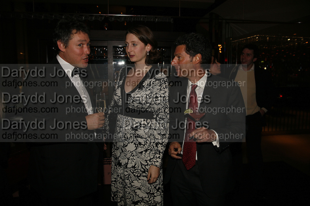 NICK SPONG, KATHERINE RAINBIRD, JONATHAN HEILBRON, Drinks party to launch a new Thomas Pink shirt called The Mogul which has a pocket which houses one's cigar. Hostyed by the Spectator and Thomas Pink. Floridita. Wardour St. London. 1 November 2006. -DO NOT ARCHIVE-© Copyright Photograph by Dafydd Jones 66 Stockwell Park Rd. London SW9 0DA Tel 020 7733 0108 www.dafjones.com
