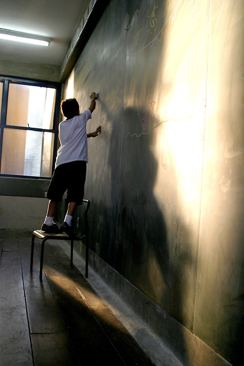 Sao Paulo_SP, Brasil. ..Escola Estadual Brigadeiro Gaviao Peixoto, maior escola publica de Sao Paulo...The State School Brigadeiro Gaviao Peixoto in Sao Paulo...Foto: LEO DRUMOND / NITRO