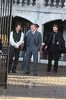 Sherlock Holmes Film Set Various Locations London, directed by guy Richie starring Robert Downey Jnr And Jude Law High Quality Prints please enquire via contact Page. Rights Managed Downloads available for Press and Media