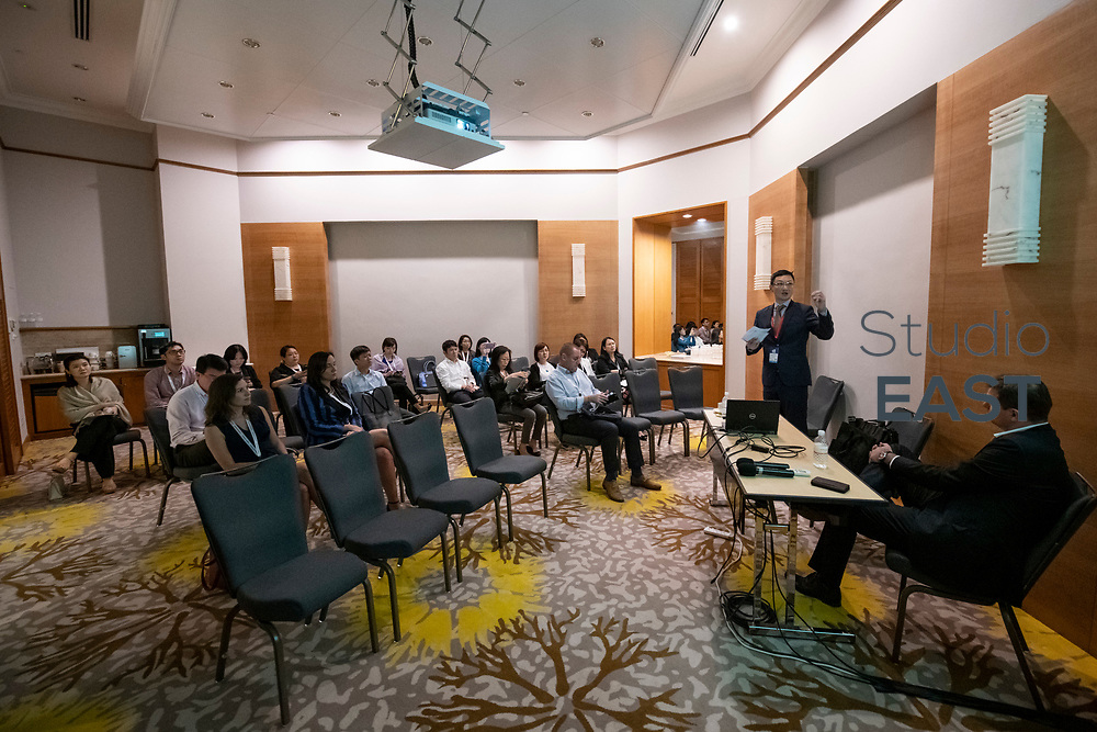 Breakout session in Inkwood Room - Managing Your Compliance Obligations by Deutsche Bank, during CT Week in Swissôtel Merchant Court, Singapore, Singapore, on 25 April 2019. Photo by Lucas Schifres/Studio EAST