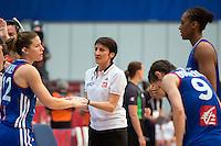 Valerie Garnier - 28.06.2015 - France / Serbie - Finale Championnat d'Europe feminin de Basket ball -Budapest<br /> Photo : Attila Volgyi / Icon Sport