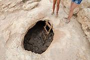 Mystical cave next to Cap des Barbaria, Formentera