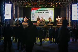 Esteio, 26.08.2019 - Som Gaúcho durante apresentação na 42a Expointer, realizada no Parque de Exposições Assis Brasil, Rio Grande do Sul.<br /> Foto Gustavo Granata/Agência Preview