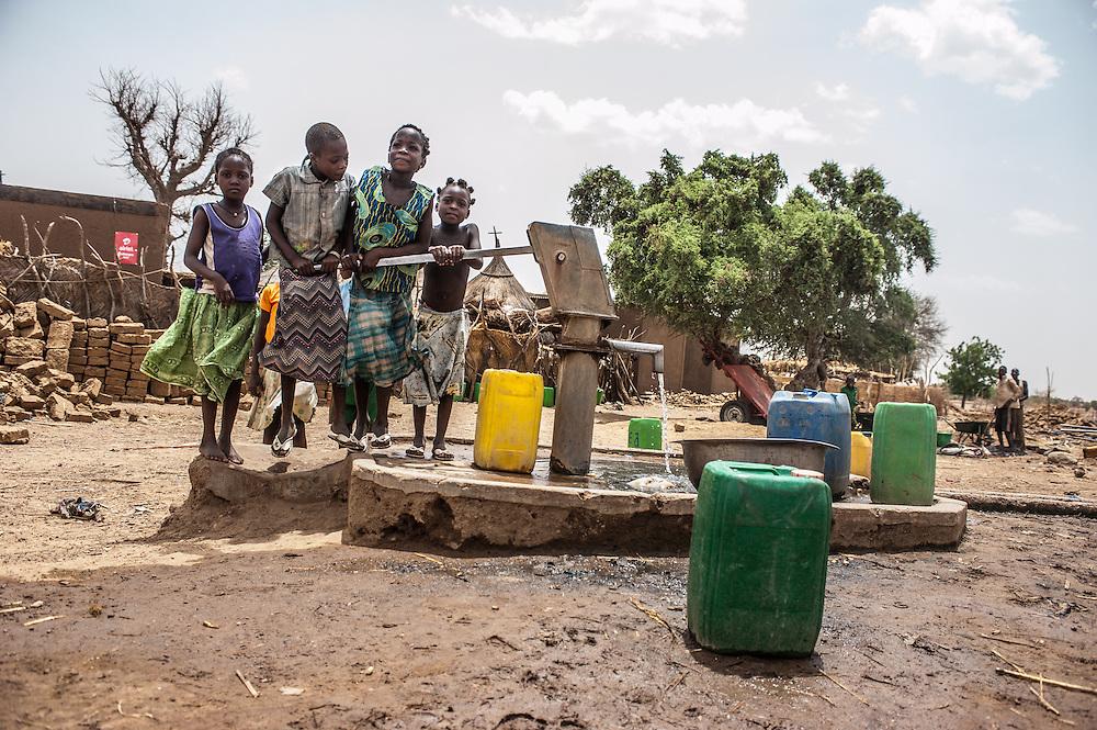 Village of Siedougou, Burkina Faso with Action Contre la Faim (Achievements Resilience Programme)