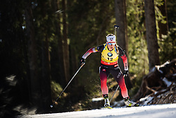ECKHOFF Tiril (NOR) during the Women 15 km Individual Competition at day 2 of IBU Biathlon World Cup 2019/20 Pokljuka, on January 23, 2020 in Rudno polje, Pokljuka, Pokljuka, Slovenia. Photo by Peter Podobnik / Sportida