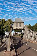 Europa, Deutschland, Koeln, die Drehbruecke im Deutzer Hafen.<br /> <br /> Europe, Germany, Cologne, the pivot bridge at the harbor in the district Deutz.