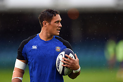 Jackson Willison of Bath Rugby looks on during the pre-match warm-up - Mandatory byline: Patrick Khachfe/JMP - 07966 386802 - 24/08/2018 - RUGBY UNION - The Recreation Ground - Bath, England - Bath Rugby v Scarlets - Pre-season friendly