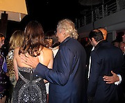 **EXCLUSIVE**.Elisabetta Gregoraci and Flavio Briatore with Vladimir Doronin and Naomi Campbell..De Grisogono Jewerly Party - Inside..Special Performance by Singer Cheryl Cole..2010 Cannes Film Festival..Hotel Du Cap..Cap D'Antibes, France..Tuesday, May 18, 2010..Photo ByiSnaper App/ CelebrityVibe.com.To license this image please call (212) 410 5354; or Email:CelebrityVibe@gmail.com ;.website: www.CelebrityVibe.com.
