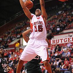 NCAA Basketball - South Florida at Rutgers - March 7, 2009