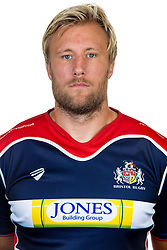 Jordan Crane of Bristol Rugby - Rogan Thomson/JMP - 22/08/2016 - RUGBY UNION - Clifton Rugby Club - Bristol, England - Bristol Rugby Media Day 2016/17.
