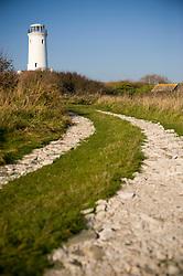 Old Lower Lighthouse, Portland Bill, Dorset, England, UK.