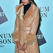 Emilia Boateng arrivers Skate at Somerset House with Fortnum & Mason Launch party, London, Somerset House, 12 November 2019, London, UK.