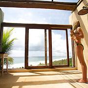 Hotel Txai. View to infinity from the Spa | Hotel Txai. Vue sur plage a l'infini depuis le Spa Adresses de charmes, adresses secrètes au Brésil