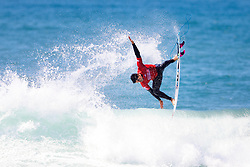 Current No.7 on the Jeep Leaderboard Gabriel Medina of Brazil advances directly to Round Three of the 2017 Hurley Pro Trestles after winning Heat 7 of Round One at Trestles, CA, USA.