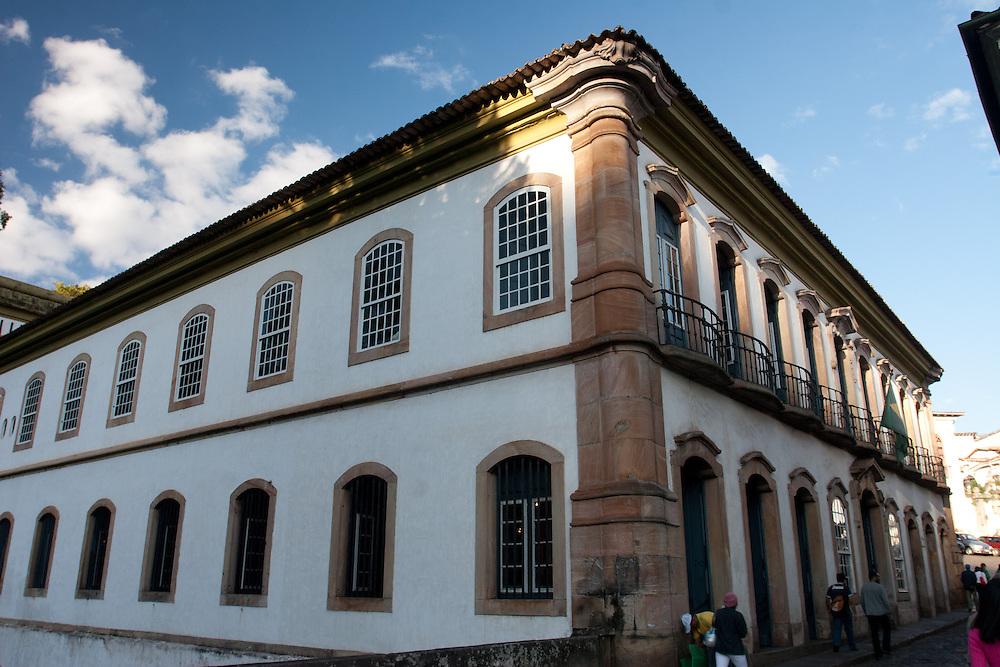 Ouro Preto_MG, Brasil.<br /> <br /> Casa dos Contos, onde funcionou a primeira Casa da Moeda de Minas Gerais em Ouro Preto.<br /> <br /> Casa dos Contos in Ouro Preto, Minas Gerais.<br /> <br /> Foto: JOAO MARCOS ROSA / NITRO