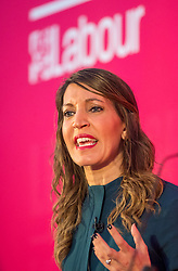 © Licensed to London News Pictures. 01/02/2020. Bristol, UK. DR ROSENA ALLIN-KHAN at the Labour Party Deputy Leadership Hustings, at Ashton Gate Stadium. Deputy Leadership Candidates: Dr Rosena Allin-Khan, Dawn Butler, Angela Rayner, Richard Burgon, Ian Murray. Photo credit: Simon Chapman/LNP.