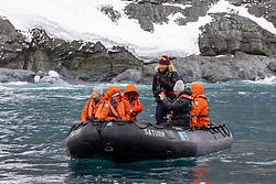 Guests On Zadiak At Elephant Island