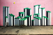 Wall graphics in Ciego de Avila, Cuba.