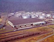 "Ackroyd C00729-6 ""Morton & Stanton. American Steel aerials. August 1, 1962"" (4x5"" original color transparency. See also B&W 11985) (Texaco Portland Terminal, Site ID# 169)"