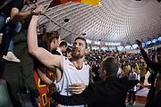 DESCRIZIONE : Roma LNP A2 2015-16 Acea Virtus Roma Mens Sana Basket 1871 Siena<br /> GIOCATORE : Craig Callahan<br /> CATEGORIA : postgame tifosi pubblico esultanza panoramica<br /> SQUADRA : Acea Virtus Roma<br /> EVENTO : Campionato LNP A2 2015-2016<br /> GARA : Acea Virtus Roma Mens Sana Basket 1871 Siena<br /> DATA : 06/12/2015<br /> SPORT : Pallacanestro <br /> AUTORE : Agenzia Ciamillo-Castoria/G.Masi<br /> Galleria : LNP A2 2015-2016<br /> Fotonotizia : Roma LNP A2 2015-16 Acea Virtus Roma Mens Sana Basket 1871 Siena