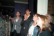 JEFF GOLDBLUM; LISA MAKIN The Old Vic at the Vaudeville Theatre ' The Prisoner of Second Avenue'  press night. After-party at Jewel. 13 July 2010. -DO NOT ARCHIVE-© Copyright Photograph by Dafydd Jones. 248 Clapham Rd. London SW9 0PZ. Tel 0207 820 0771. www.dafjones.com.