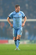 James Milner of Manchester City looks dejected - Manchester City vs. CSKA Moscow - UEFA Champions League - Etihad Stadium - Manchester - 05/11/2014 Pic Philip Oldham/Sportimage