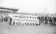 GAA All Ireland Minor football final Derry v. Kerry 26th September 1965 Croke Park...The victorious Derry Team *** Local Caption *** It is important to note that under the COPYRIGHT AND RELATED RIGHTS ACT 2000 the copyright of these photographs are the property of the photographer and they cannot be copied, scanned, reproduced or electronically stored in any form whatsoever without the written permission of the photographer