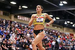 2020 USATF Indoor Championship<br /> Albuquerque, NM 2020-02-14<br /> photo credit: © 2020 Kevin Morris<br /> womens 800m heats, BAA, adidas,