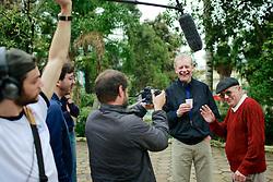 José Fortunati durante gravação de programa político de televisão em Flores da Cunha, onde nasceu, na serra gaúcha. FOTO: Jefferson Bernardes/Preview.com