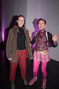 HANNA TILSON; SILVIA ZIRANEK, Richard Hamilton opening, Tate Modern. London. 11 February 2014
