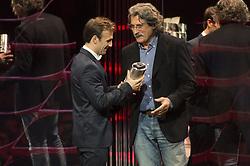 November 13, 2017 - Cheste, Spain - MotoGP Award Night Johann Zarco receive the roockie of the year (Credit Image: © Gaetano Piazzolla/Pacific Press via ZUMA Wire)