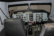 Flight simulator used to train pilots