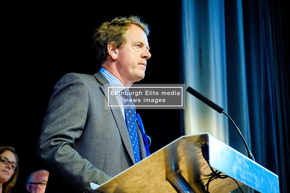 General Election 2017 Dumfries Count :: Alister Jack, Conservative at the count<br /> <br /> (c) Andrew Wilson   Edinburgh Elite media