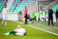 Safet Hadzic head coach of NK Olimpija during football match between NK Olimpija and NK Rudar Velenje in 2nd Round of Slovenian Cup 2019/20, on August 15, 2019 in Arena Stozive, Ljubljana, Slovenia. Photo by Grega Valancic / Sportida