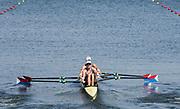 "Rio de Janeiro. BRAZIL.   USA W2X, <br /> BOW, Meghan O'LEARY AND Ellen<br /> TOMEK,  2016 Olympic Rowing Regatta. Lagoa Stadium,<br /> Copacabana,  ""Olympic Summer Games""<br /> Rodrigo de Freitas Lagoon, Lagoa. Saturday  06 August<br /> , 2016 <br /> <br /> [Mandatory Credit; Peter SPURRIER/Intersport Images]"