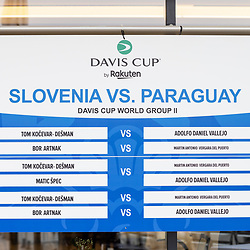 20210918: SLO, Tennis - Davis Cup, Slovenia vs Paraguay, MEDIA