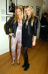 Left to right, MARISSA MONTGOMERY and PETRA ECCLESTONE daughter of Bernie Ecclestone at the opening of an exhibition entitled Exceptional Youth supported by Teen Vogue at the National Portrait Gallery, London on 3rd November 2006.<br /><br />NON EXCLUSIVE - WORLD RIGHTS