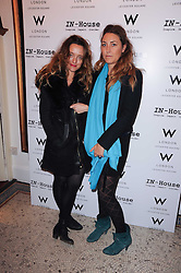 Left to right, ALICE TEMPERLEY and DIXIE CHASSAY at a screening of the short film 'Away We Stay' directed by Edoardo Ponti held at The Electric Cinema, Portobello Road, London W1 on 15th November 2010.