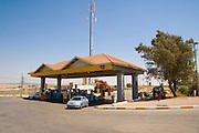 Israel, a PAZ petrol station