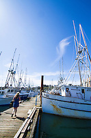 Charlston harbor. Coos Bay, Oregon.