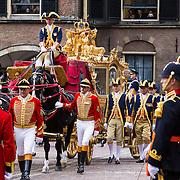 NLD/Den Haag/20130917 -  Prinsjesdag 2013, aankomst Gouden Koets