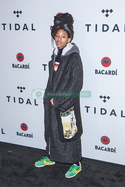 Willow Smith attends TIDAL X: Brooklyn at Barclays Center of Brooklyn on October 17, 2017 in New York City. (Photo by Joe Russo / imageSPACE).