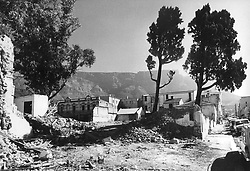 District Six Ð 5.jpg<br />Piles of rubble in District Six in 1972 point starkly to the beginning of the end for the community that lived there. <br />Picture: Jim McLagan