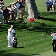 RANCHO MIRAGE, CA - MARCH 25, 2005:  Annika Sorenstam competes in the Kraft Nabisco Championship in Rancho Mirage, CA from March 22 through March 25, 2005. Sorenstam won the tournament which is the first major of the year for the LPGA tour.  (Photo by Todd Bigelow/Aurora)